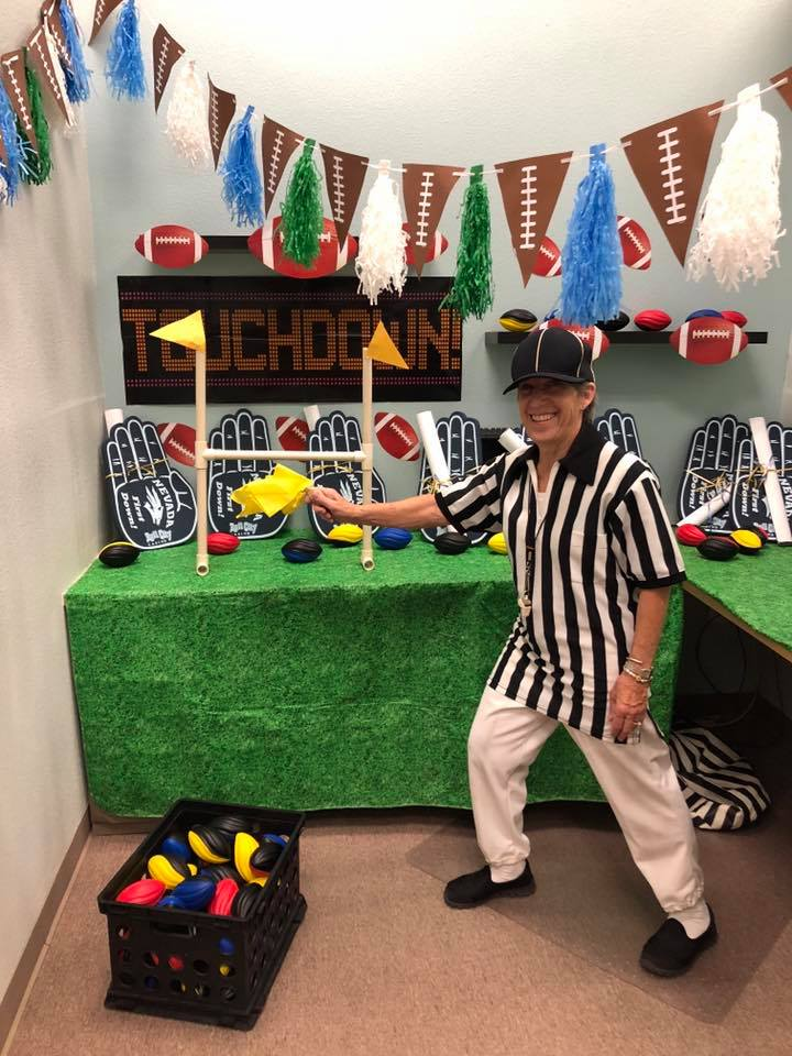 Football Referee Children's Cancer