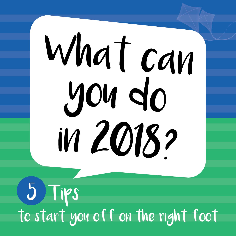 5 Tips 2018