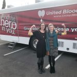 NNCCF Staff donates blood