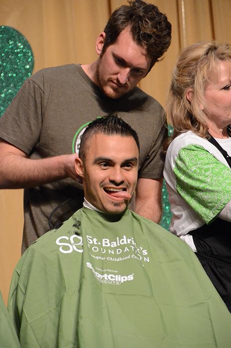 Hernandez Shaves head