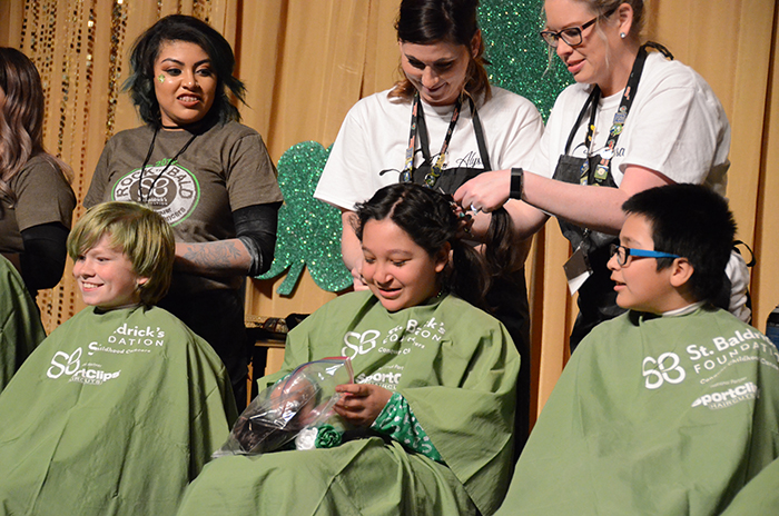 Children Shave for Cancer