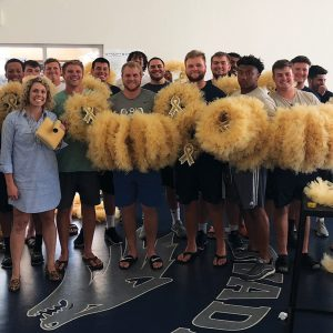 Nevada Football Kids Cancer